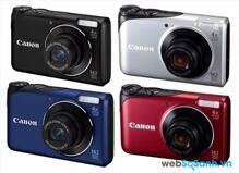 Đánh giá nhanh máy ảnh Canon PowerShot A2200