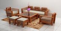Tham khảo những mẫu bàn ghế phòng khách nhỏ xinh