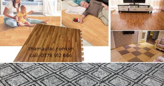 Thảm xốp  Âu Lạc - Điểm nhấn trang trí ấn tượng SANG - XỊN - ẤM ÁP cho không gian nhà bạn