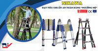 Thang nhôm Nikawa: Được tin dùng vì đạt tiêu chuẩn an toàn đáng ngưỡng mộ