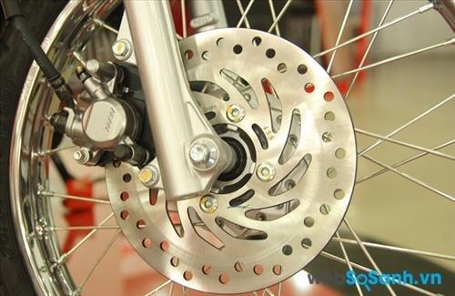 Thay vành đúc cho xe máy có bị phạt hay không