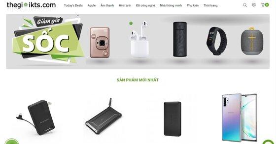 Thế Giới Kỹ Thuật Số - Website bán lẻ hàng công nghệ và thời trang