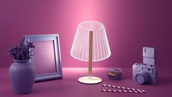 Thế hệ đèn 3D mới: giải pháp nội thất cho các căn phòng chật trội