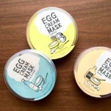 """Thêm một sản phẩm mặt nạ """"độc lạ"""" từ Hàn Quốc – mặt nạ kem trứng Egg Cream Mask"""