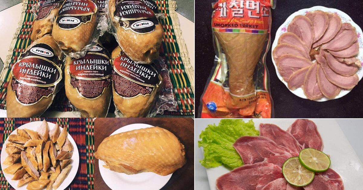 Thị trường Tết : Đặc sản hun khói hút khách hạng sang