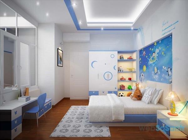 Thiết kế hệ thống chiếu sáng phù hợp cho nội thất phòng ngủ