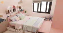 Thiết kế nội thất phòng ngủ bé gái cần quan tâm điều gì?