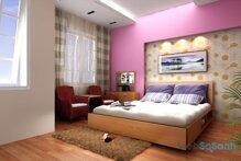 Thiết kế nội thất phòng ngủ cho người năng động, trẻ trung