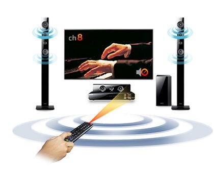 Thư giãn cùng Dàn âm thanh Bluray HT-F4530