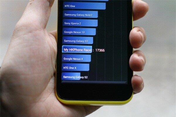 Thử nghiệm hiệu năng HKPhone RACER qua các bài Benchmark