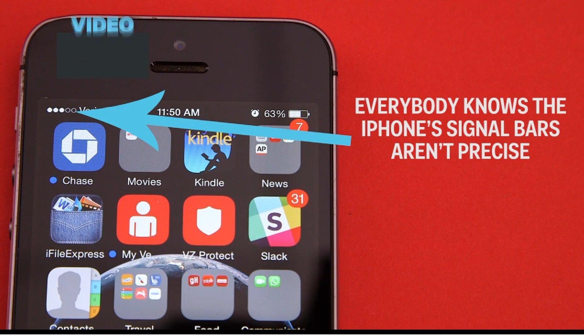 Thủ thuật giúp bạn theo dõi sóng điện thoại iPhone một cách dễ dàng