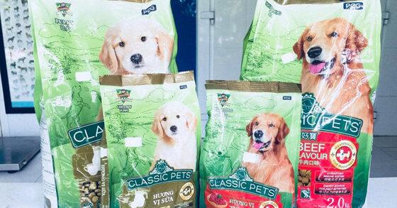 Thức ăn cho chó bao 10kg Classic Pet có tốt không?