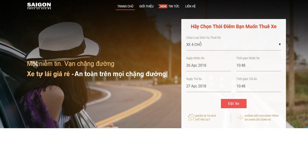 Thuexegiaresaigon – Chuyên cung cấp dịch vụ cho thuê xe, thiết kế tour du lịch