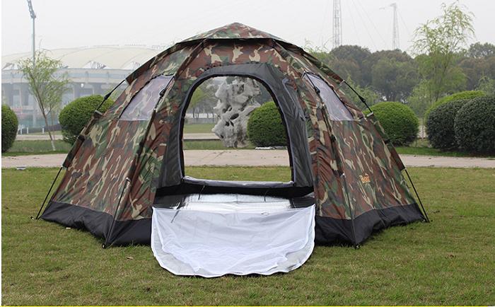 kinh nghiệm mua lều du lịch tự bung
