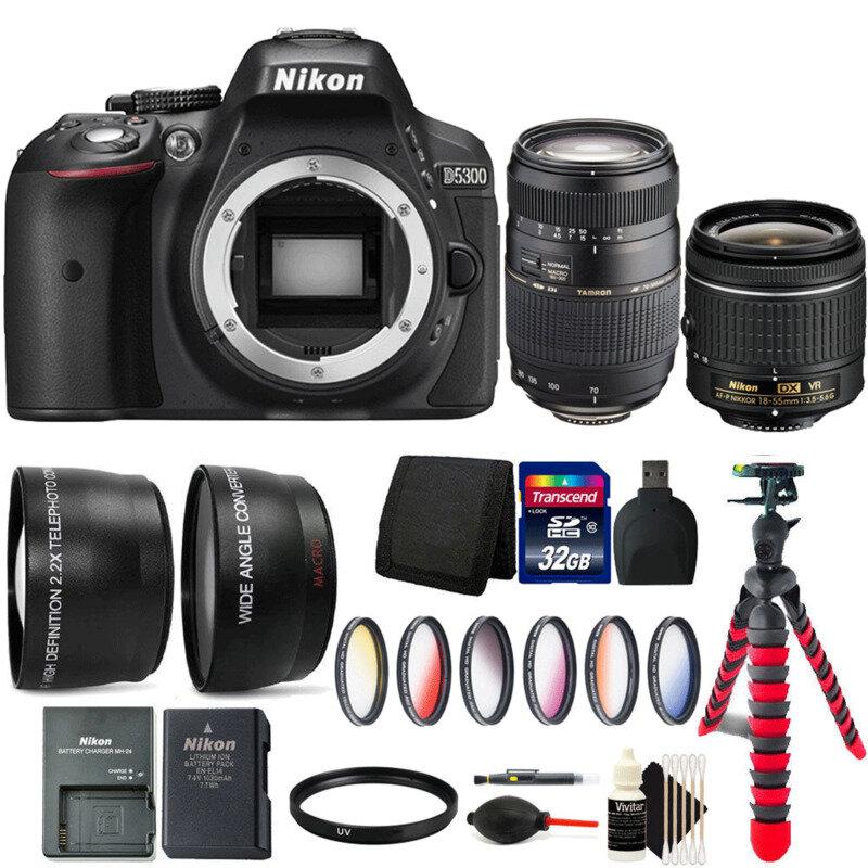 Nikon D5300 thiết kế nhỏ gọn và giá tốt