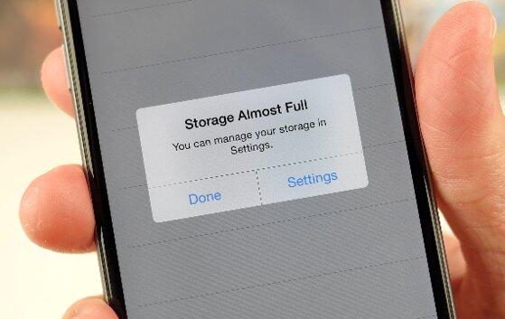 Tiết kiệm bộ nhớ iPhone chỉ với 5 bước