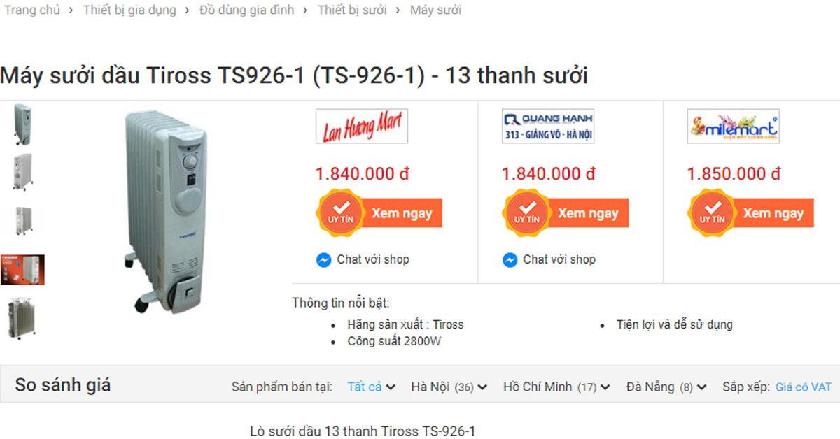 Tiết kiệm được 500.000 đồng nhờ sử dụng Websosanh.vn