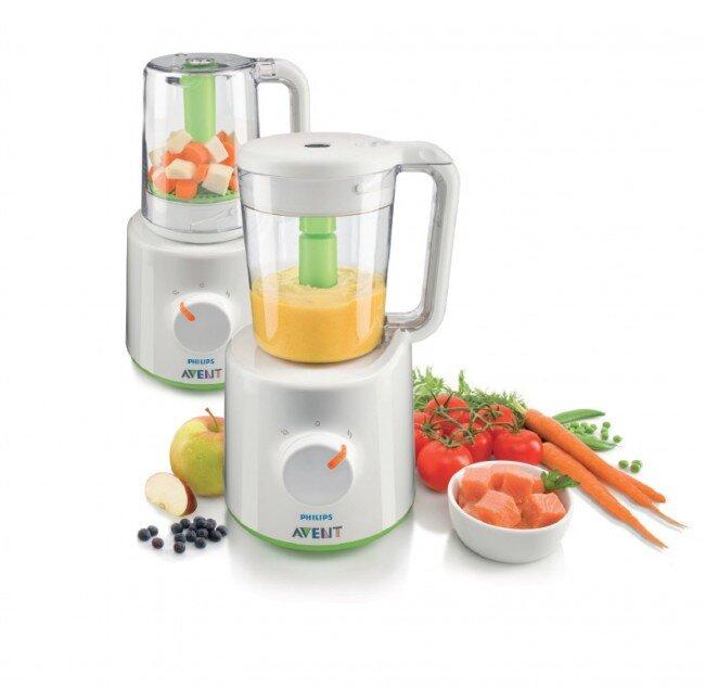 Tiết kiệm thời gian và công sức với dụng cụ chế biến thức ăn Philips AVENT SCF870/20