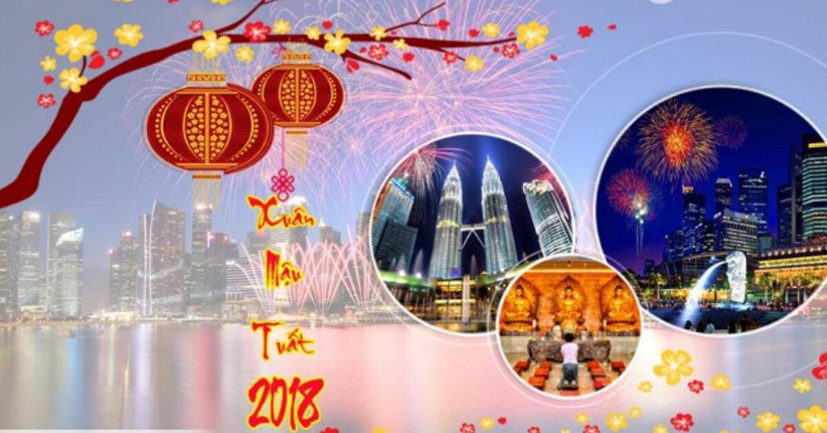 Tiết lộ giá tour Top 10 địa điểm du lịch hot nhất Tết Nguyên Đán 2018