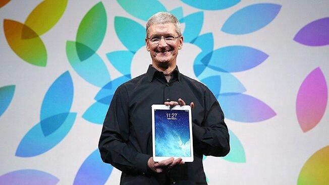 Tim Cook sử dụng iPad cho 80% công việc