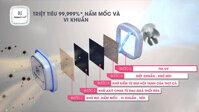 Tìm hiểu công nghệ kháng khuẩn trên tủ lạnh LG