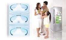 Tìm hiểu công nghệ luồng khí lạnh vòng cung trên tủ lạnh Toshiba