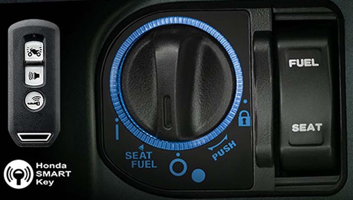 Tìm hiểu hệ thống chìa khóa thông minh SMARTKEY trên xe máy Honda