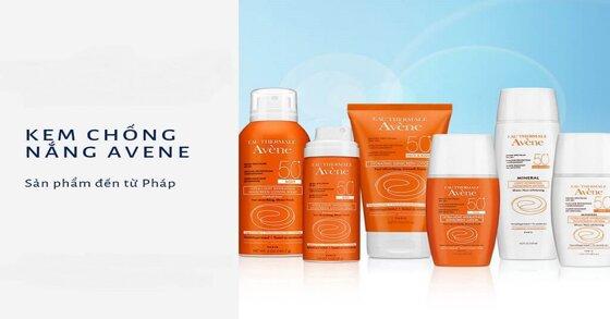 Tìm hiểu về 4 kem chống nắng Avene dành cho từng loại da