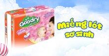 Tìm hiểu về thương hiệu miếng lót sơ sinh Goodry