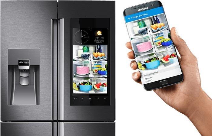 Tìm hiểu về tủ lạnh thông minh Samsung Family Hub 2.0 2017