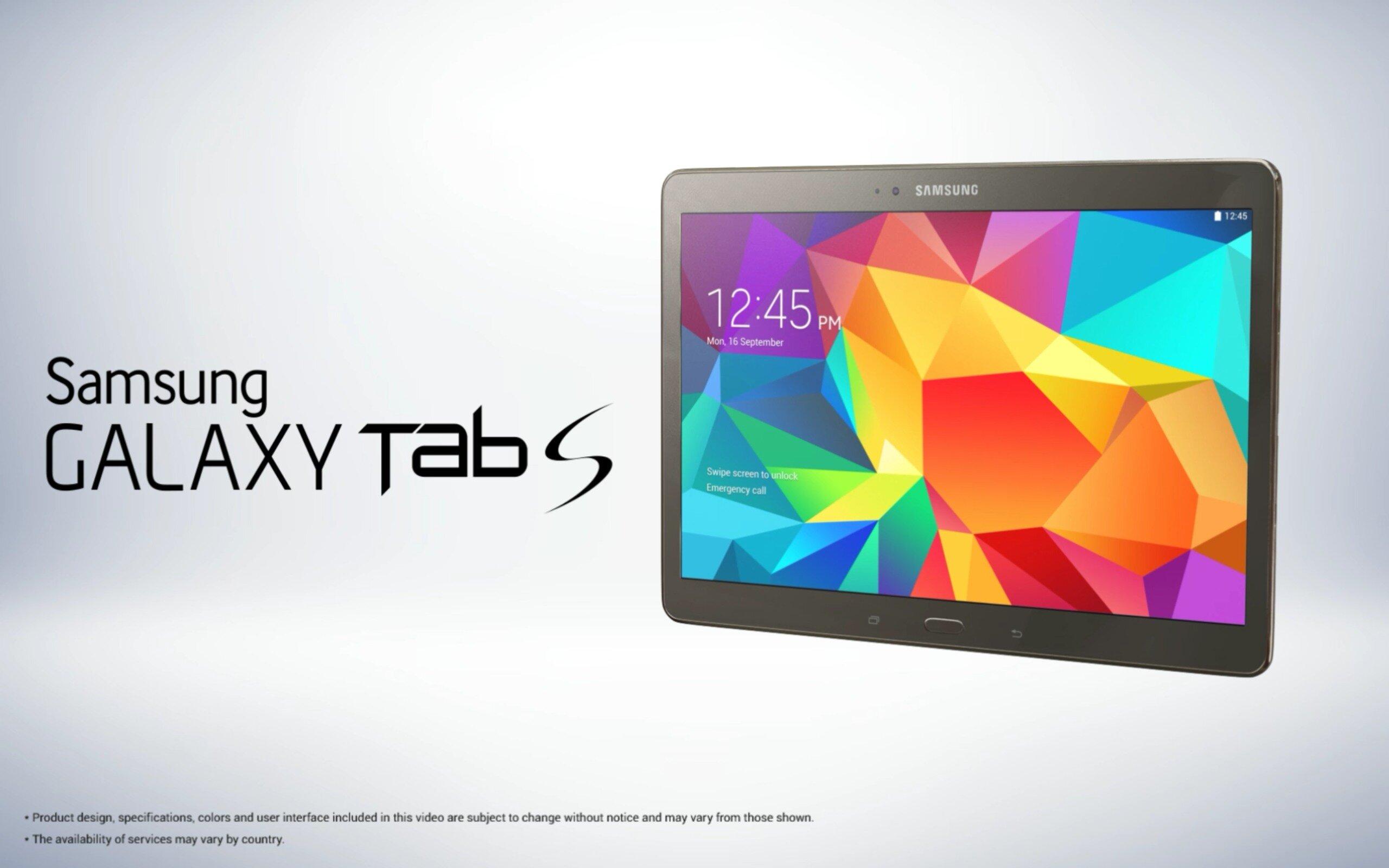 Tính ưu việt của màn hình Super AMOLED trên Samsung Galaxy Tab S