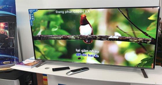 Tivi 4K giá rẻ Asanzo có tích hợp sẵn Karaoke giá bao nhiêu tiền ?
