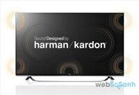 Tivi LG được tích hợp công nghệ chế tác loa của Harman/Kardon