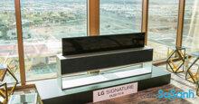 Tivi màn hình cuộn là gì ? Giá TV màn hình cuộn bao nhiêu tiền ?