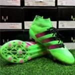 Adidas Ace 16.1 Primeknit FGAG Solar Green- Shock Pink- Core Black AQ5151 (1)