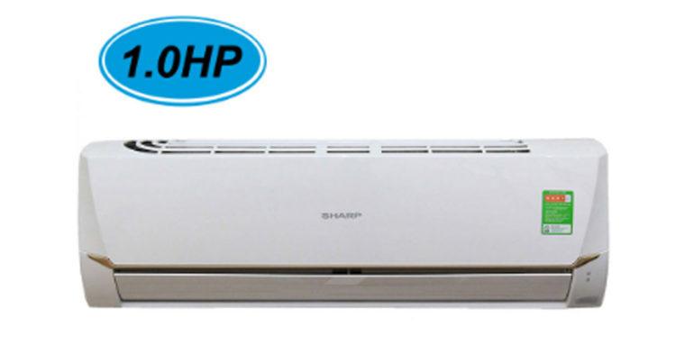 Tổng hợp điều hòa máy lạnh Sharp 9000btu giá rẻ dưới 6 triệu đồng cho phòng diện tích nhỏ
