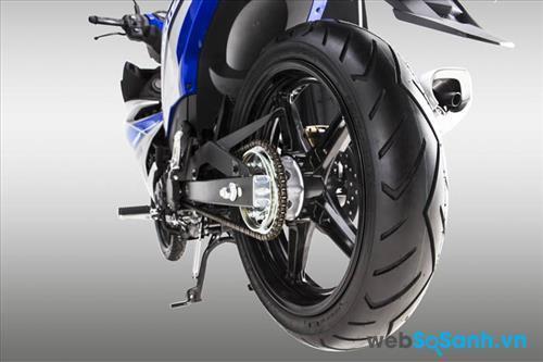 Vành đúc trên Yamaha Exciter