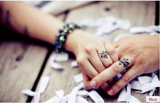 Tổng hợp 35 hình xăm nhẫn đôi dành cho các cặp tình nhân