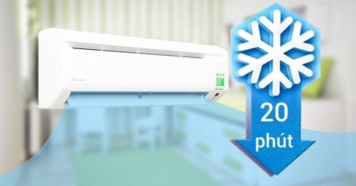 Tổng hợp các chế độ làm lạnh nhanh trên các dòng máy điều hòa hiện nay