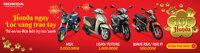 Tổng hợp các chương trình khuyến mãi khi mua xe máy dịp Tết Nguyên Đán 2016