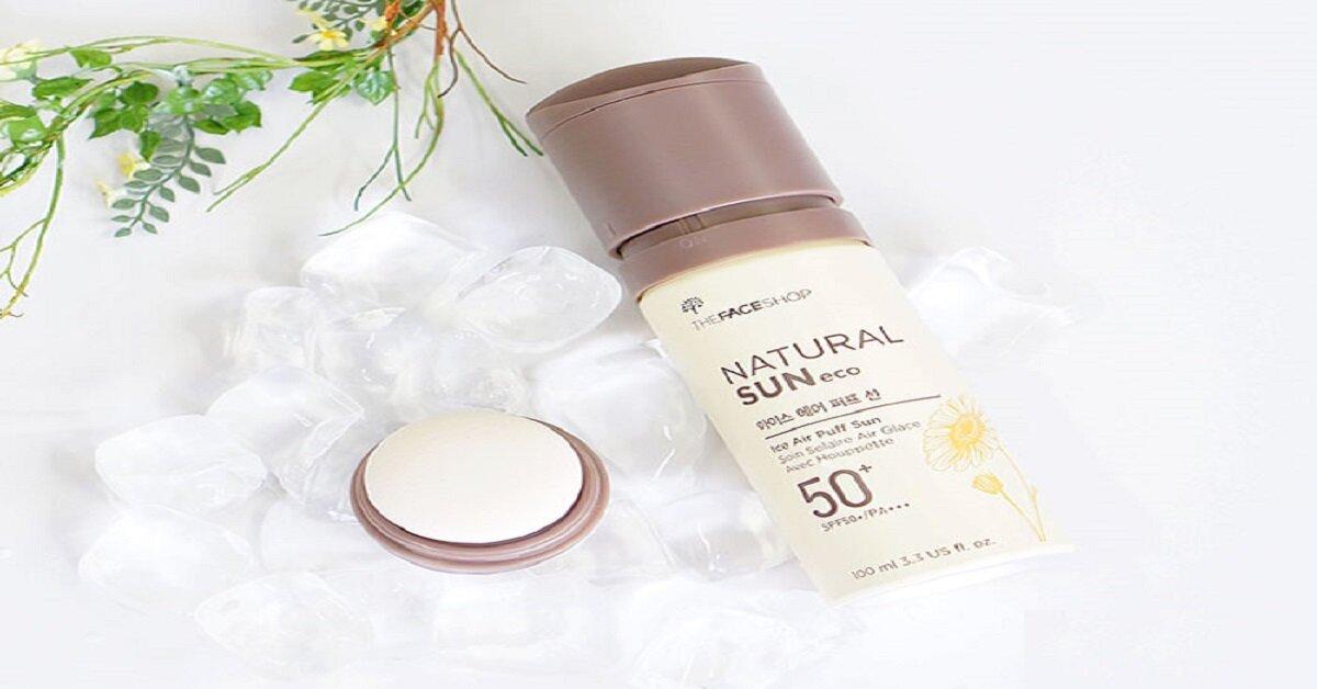 Tổng hợp các loại kem chống nắng the face shop dành cho da dầu và da nhạy cảm