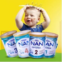 Tổng hợp các loại sữa bột Nan cho bé trên 1 tuổi