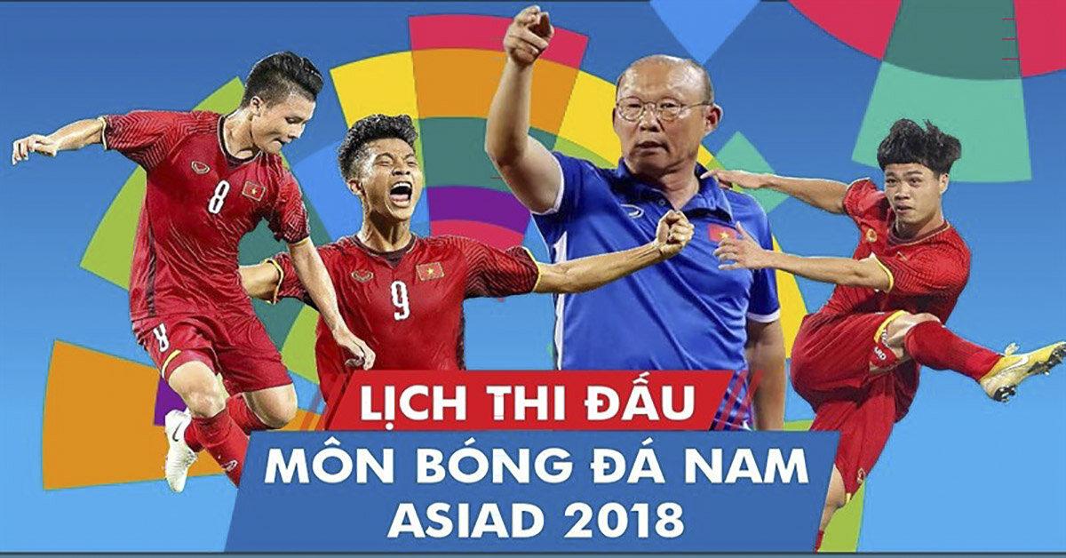 Tổng hợp cách xem trực tiếp bóng đá U23 Việt Nam tại Asiad 2018 trên smartphone và smart tivi
