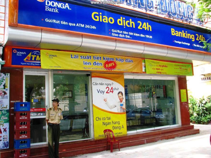 Tổng hợp địa chỉ cây ATM ngân hàng DongABank tại thành phố Hồ Chí Minh