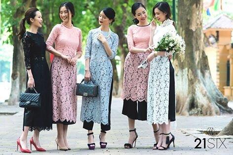 Tổng hợp địa chỉ mua/may áo dài cách tân đẹp ở Hồ Chí Minh