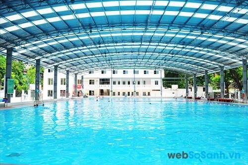 Tổng hợp giá vé bể bơi tại các quận: Hoàn Kiếm và Hai Bà Trưng