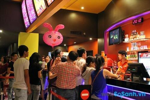 Tổng hợp giá vé xem phim tại các rạp chiếu phim ở Hà Nội
