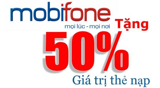 Tổng hợp khuyến mãi nạp thẻ Mobifone trong tháng 12/2015