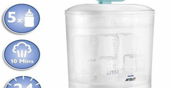 Tổng hợp máy tiệt trùng bình sữa an toàn cho con tháng 9/2019