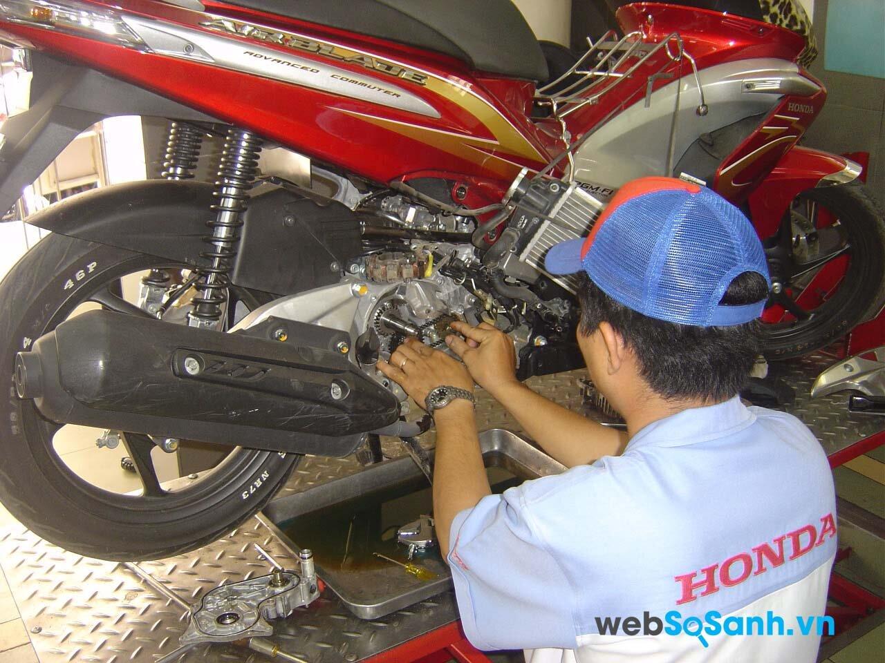 Tổng hợp những cửa hàng sửa chữa, bảo dưỡng xe máy uy tín tại Hà Nội